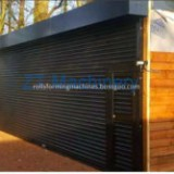 Features of rolling shutter door