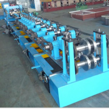 Fully automatic Interchange C/Z purlin roll forming machine