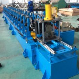 Heavy duty shelf pillar roll forming machine