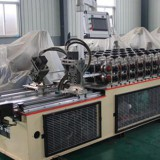 High speed combined light keel machine for furring hat and U shape purline