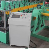 Light duty upright pillar roll forming machine