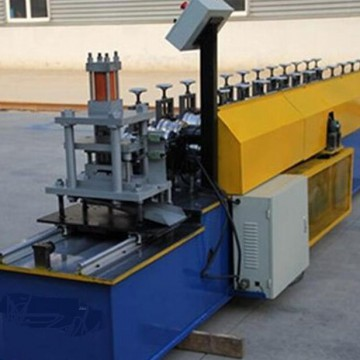 Louvers/curtain type fire damper roll forming machine