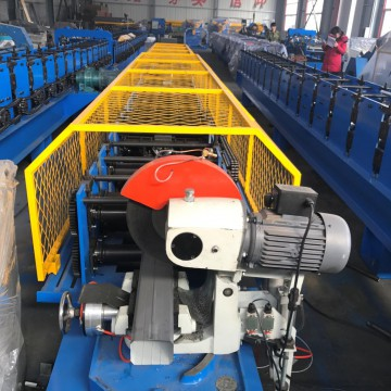 Square downpipe rolling forming machine
