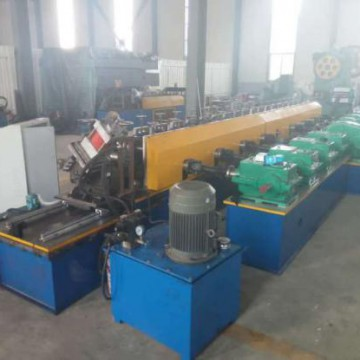 Strut channel with punching fully automatic production line