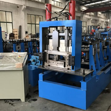 Fast sizes changing Cee & Zee Purlin Combined Forming Machine