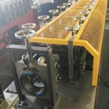 Solar panel reflector, half round tube roll forming machine