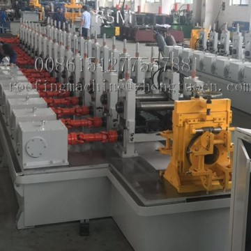 High speed C purline 4 to 5mm thickness rolling machine
