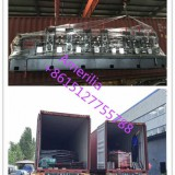 A new light keel roll forming machine has been loaded in the container