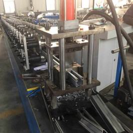 Italy design rolling shutter guardrail rolling forming machine