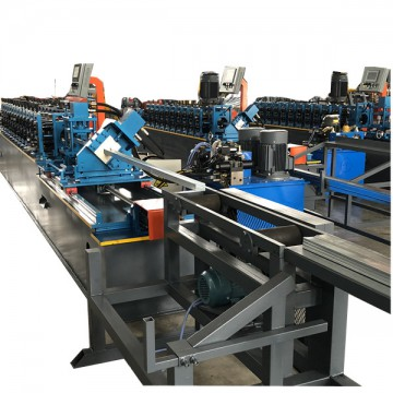 Metal stud and track rolling forming machine