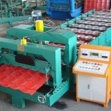 The introduction and application of color steel tile press machine in Chinese market