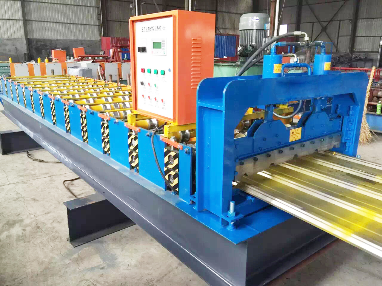 Deck Channel Roll Forming Machine