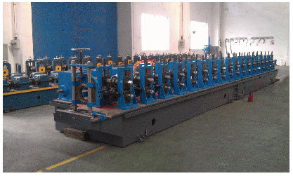 Cold roll forming steel equipment in automobile shipbuilding industry