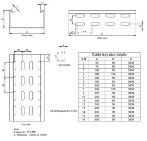 high-quality-cantilever-type-cable-tray-roll-forming-machine