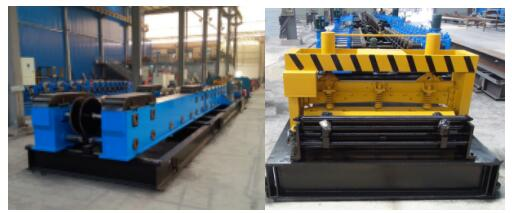 High quality cantilever type cable tray roll forming machine