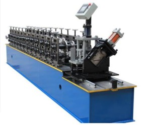 C bracing roll forming machine