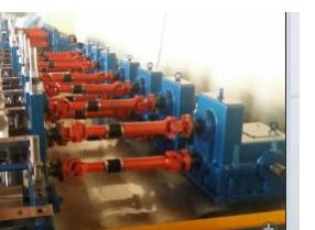 High speed and high accurancy C bracing roll forming machine
