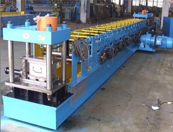 Metal coil door frame roll forming machine