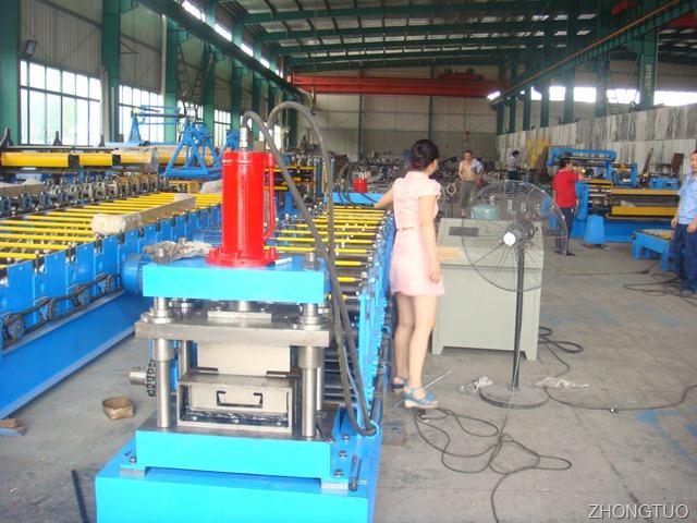 C300 purline rolling forming machine manual version