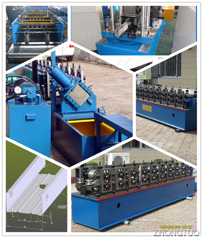 1.5 to 2.0mm C Purline and U channel Machine