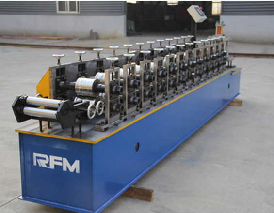 perforated shutter door steel cold roll form machinery