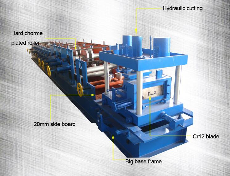 c purlins roll forming machine produce sizes