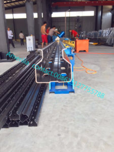 pallet racking production line