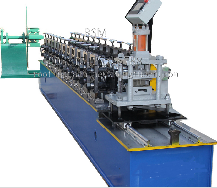 metal shutter door making machine