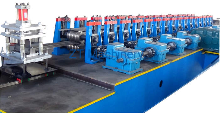 garage shutter door making machine