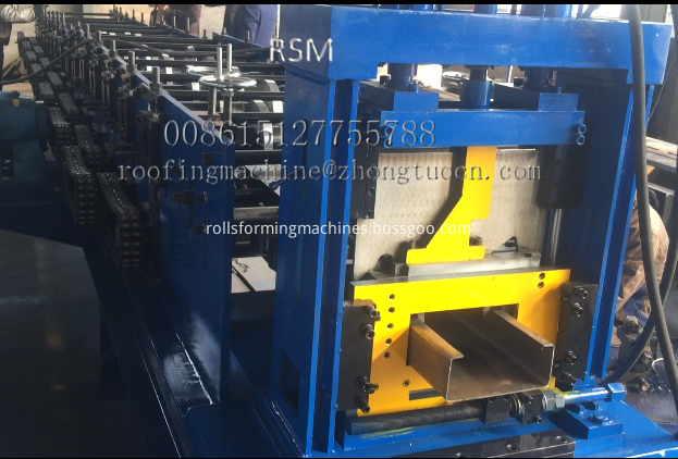C Steel Forming Machine
