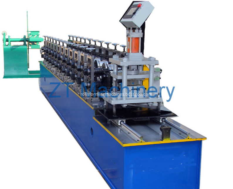 roller shutter door salt roll forming machine