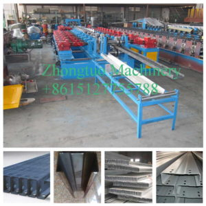 z shape steel purlin roll forming machine