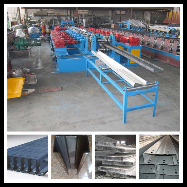 metal z purlins roll forming machine