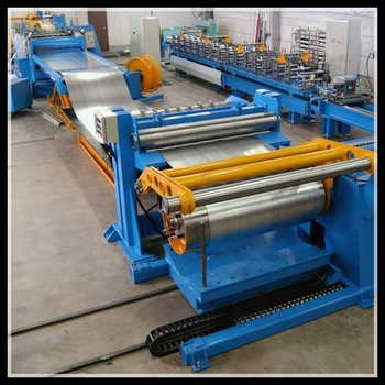 combined cut to length and slitting line