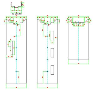 door frame profile