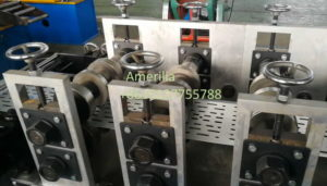 rolling part of cable tray machine