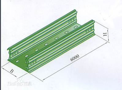 Trough cable tray and tray cable tray
