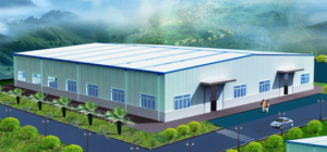 steel structure plant