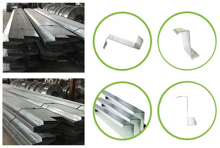 Features of steel purlin