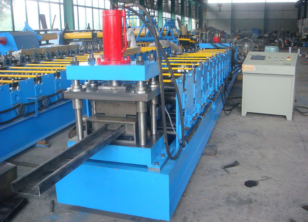 80-300 Broken C Purlines roll forming machine