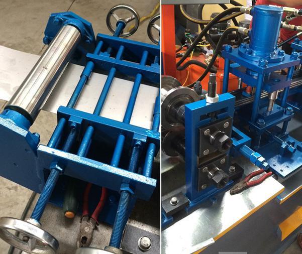 C & U stud machine for many sizes 1006