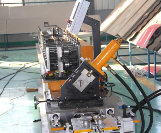 Dropped ceiling 24-28 Cross Tee suspended ceiling grid T trim making machine