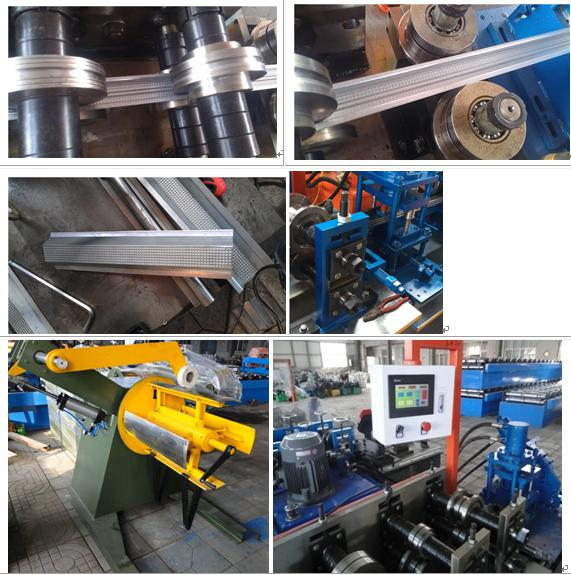 Furring runner for ceiling and drywall rolling forming machine