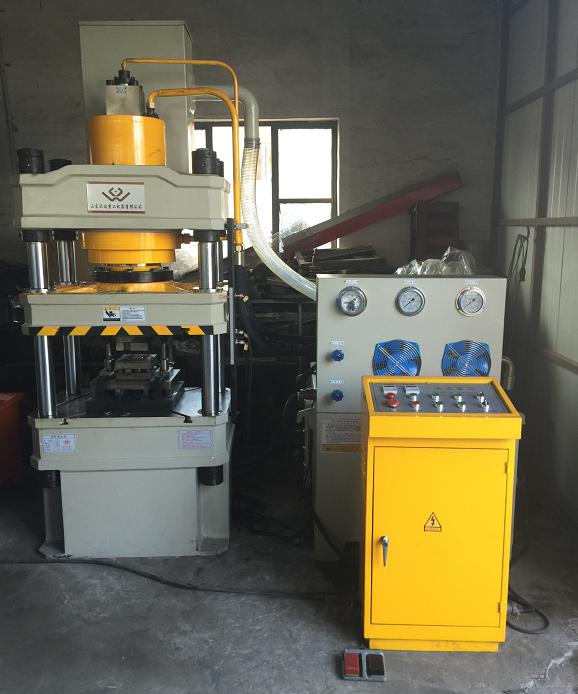 High strength coal mine roof bolt expansion shell rolling forming machine