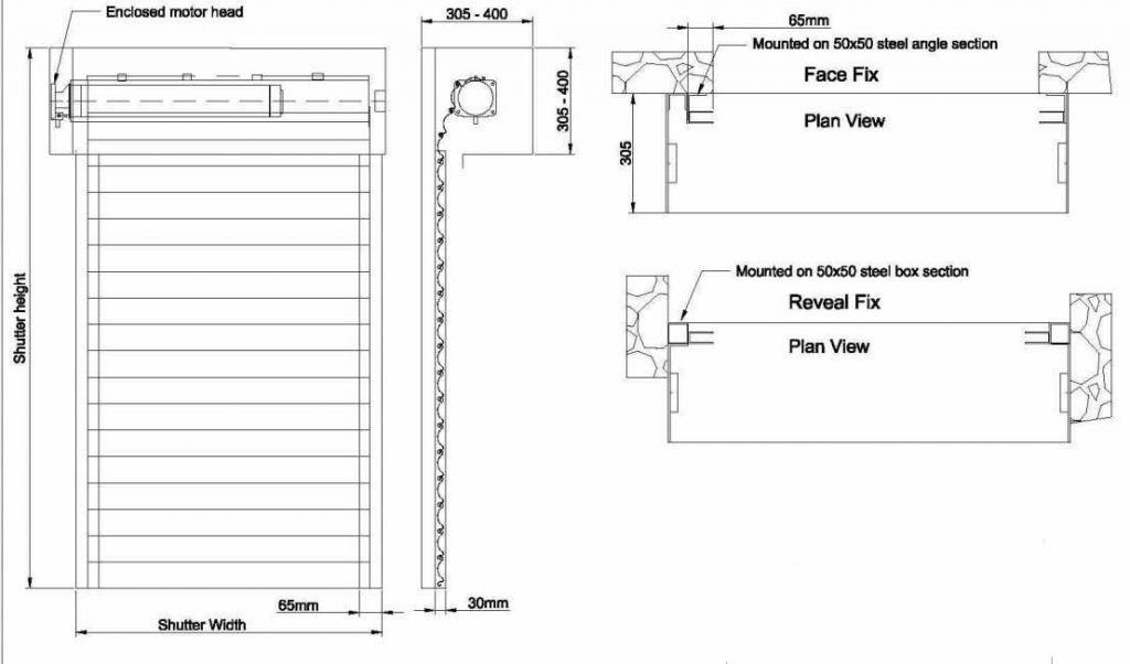 How to use rolling shutter guardrail