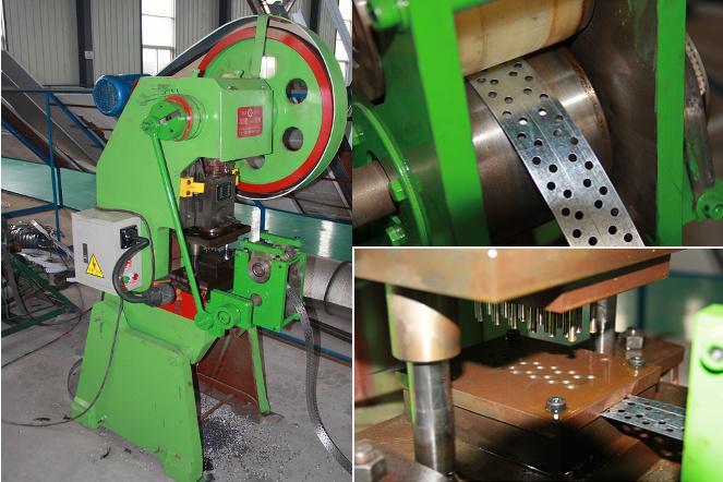 Meshy type angle iron machine
