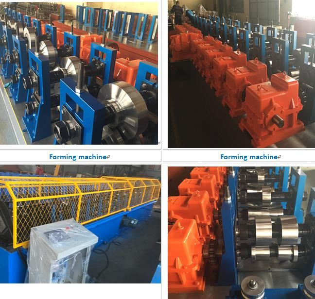 Steel Fence Pillar Rolling forming machine for Canada