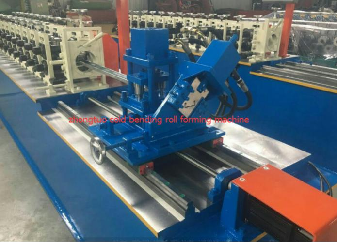 The C Stud and U track channel roll forming machine have been finished