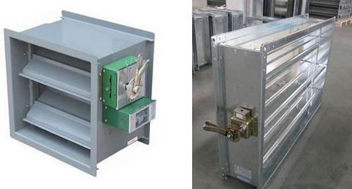 High efficiency automatic fire damper smoke damper making machine