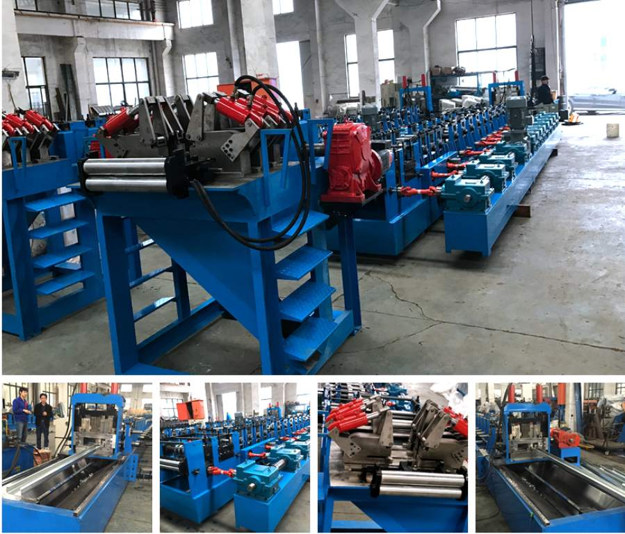 C60-300 Fully Automatic Adjustable C Purline Forming Machines
